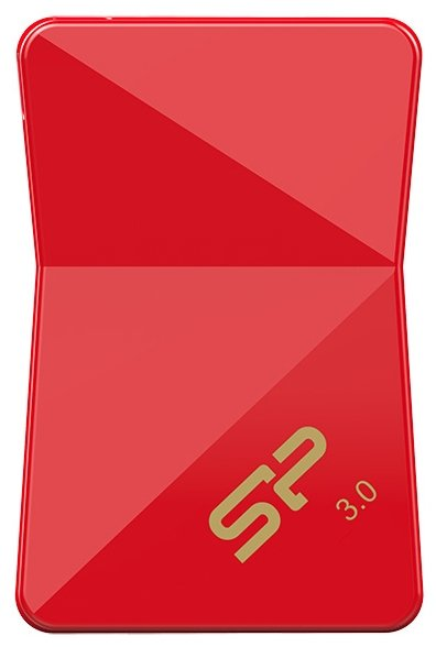 Флешка USB SILICON POWER Jewel J08 32Гб, USB3.0, черный [sp032gbuf3j08v1k]