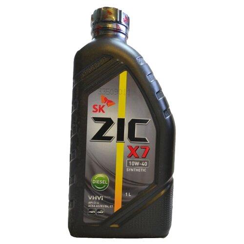 Моторное масло ZIC X7 DIESEL 10W-40 1 л