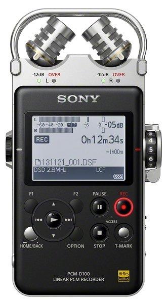 Sony Портативный рекордер Sony PCM-D100