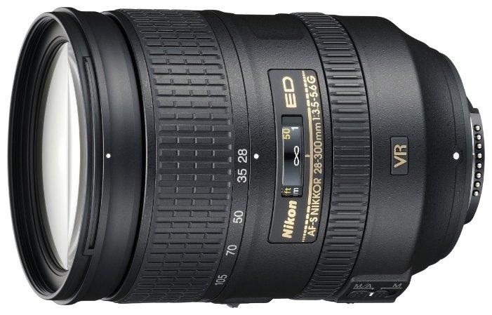Сравнение с Nikkor 28-300mm f/3.5-5.6G ED VR AF-S