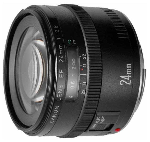 Canon Объектив Canon EF 24mm f/2.8
