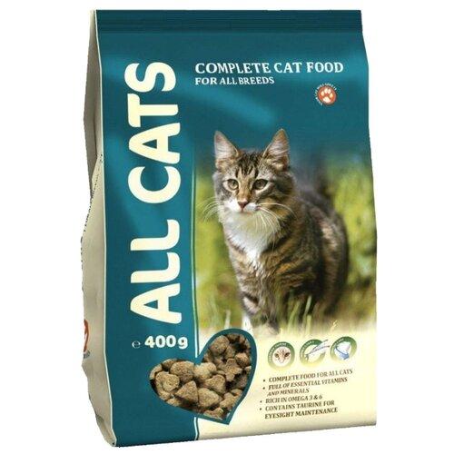Корм для кошек ALL CATS Сухой полнорационный (0.4 кг)Корма для кошек<br>