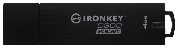 Kingston IronKey D300 Managed 4GB