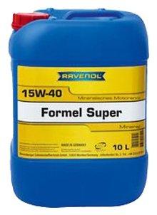 Моторное масло Ravenol Formel Super SAE 15W-40 10 л