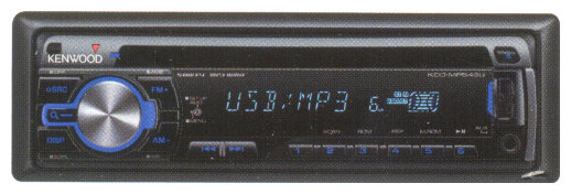 Автомагнитола KENWOOD KDC-MP543U