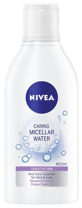 Nivea мицеллярная вода для чувствительной кожи 3в1