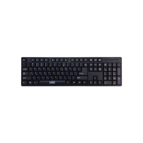 Клавиатура CBR KB 106 Black PS/2