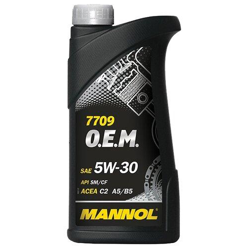 Фото - Синтетическое моторное масло Mannol 7709 O.E.M. for Toyota Lexus 5W-30 1 л минеральное моторное масло mannol outboard universal 1 л