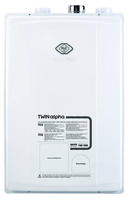 Газовый котел Kiturami Twin Alpha 13 15.1 кВт двухконтурный