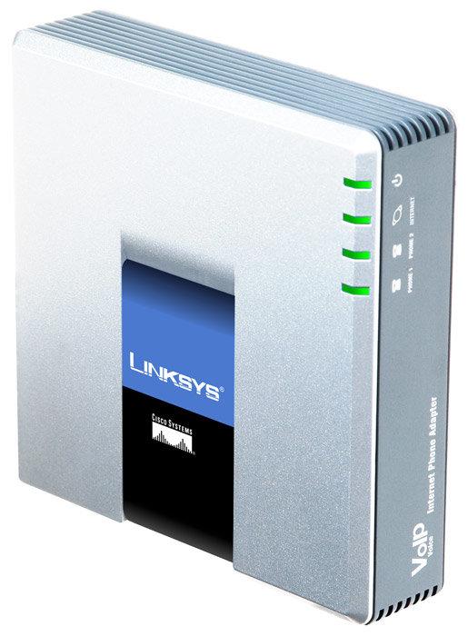 Linksys Адаптер для VoIP-телефонии Linksys PAP2T