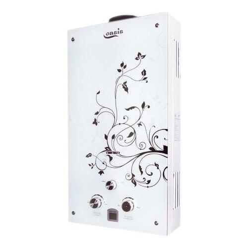 Проточный газовый водонагреватель Oasis Glass 20ZG