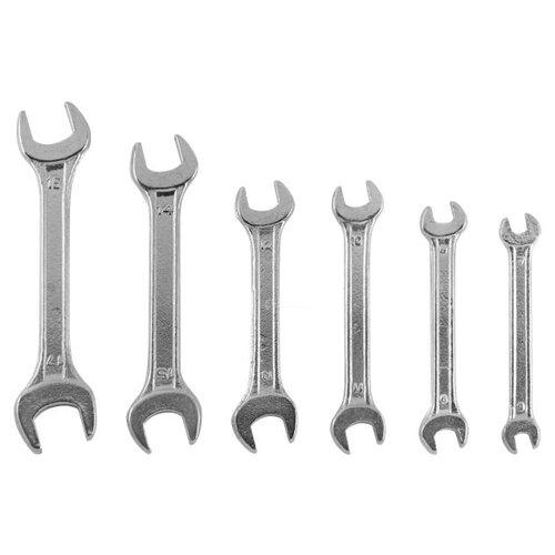 Набор гаечных ключей KROFT (6 предм.) 210206 набор гаечных ключей ермак 6 предм 736 075