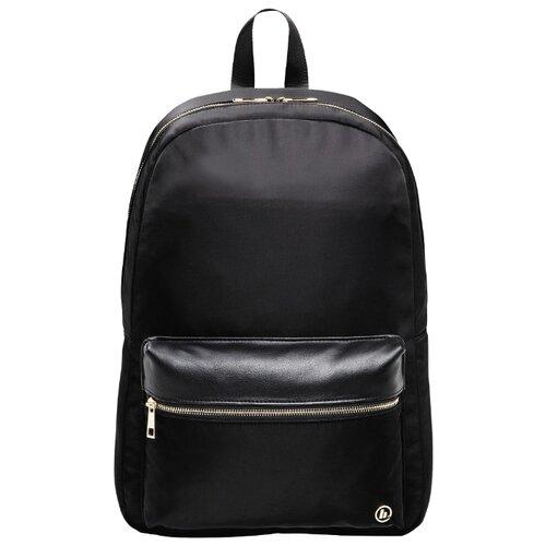Рюкзак HAMA Mission Notebook Backpack 14 black goldСумки и рюкзаки<br>
