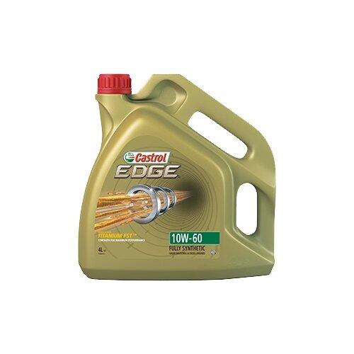 Синтетическое моторное масло Castrol Edge 10W-60, 4 л по цене 4 088