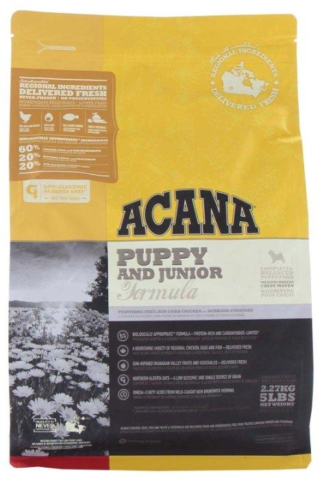 Корм для щенков Acana Classics 2.27 кг