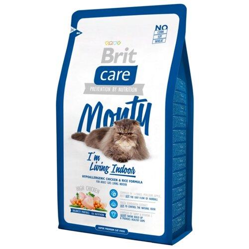 Корм для кошек Brit Care Monty с курицей 7 кгКорма для кошек<br>