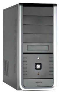 Компьютерный корпус SuperCase TC-7610 410W Black/silver