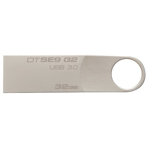 Купить Флешка Kingston DataTraveler SE9 G2 3.0 32GB серебристый