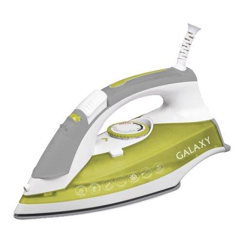 Фото - Утюг GALAXY GL6109 зеленый/белый/серый утюг galaxy gl6109 зеленый белый серый