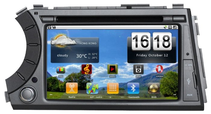 SIDGE SsangYong KYRON Android 2.3