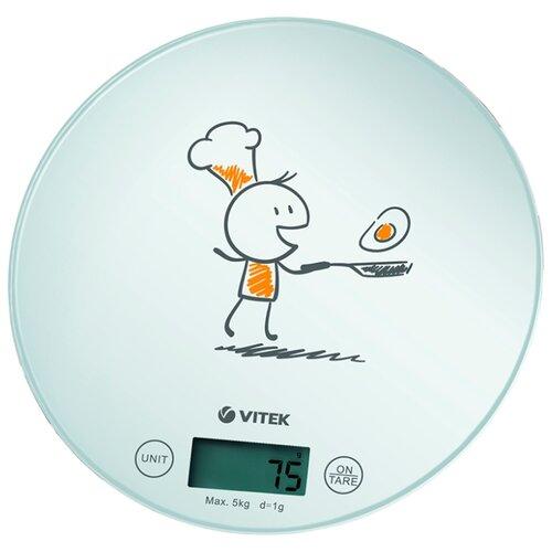Кухонные весы VITEK VT-8018 белый
