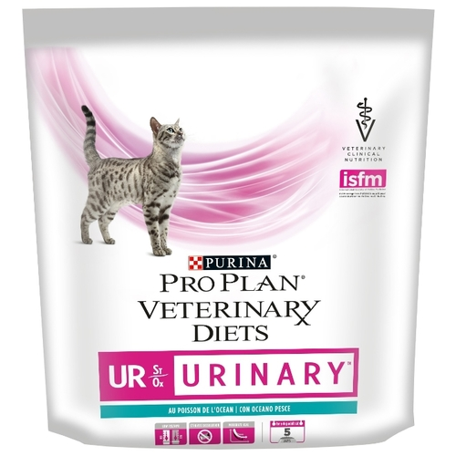 Pro Plan Veterinary Diets Feline UR Urinary with Ocean Fish dry (0.35 кг) Лечебные корма