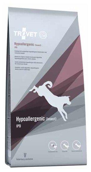 Корм для собак TROVET Dog Hypoallergenic IPD (Insect) dry