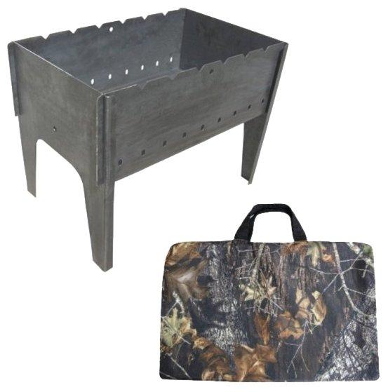 Мангал ТОНАР разборный (2мм, сумка)