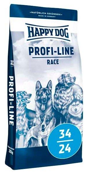 Корм для собак Happy Dog Profi-Line Race 34/24 для активных животных 20 кг