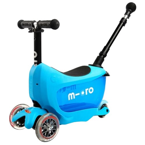 Кикборд Micro Mini2go Deluxe Plus blue