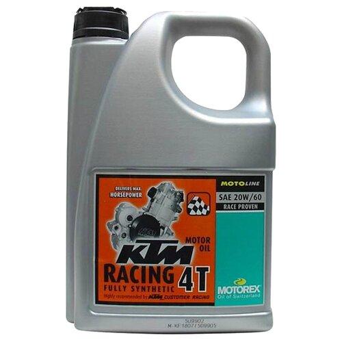 Моторное масло Motorex KTM Racing 4T 20W-60 4 л