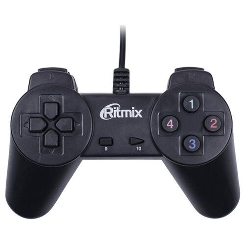 Геймпад Ritmix GP-001 черный геймпад проводной ritmix gp 035bth черный [80000202]