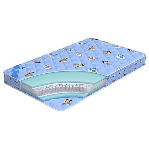 Матрас детский Промтекс-Ориент Teen Стандарт 80x200 пружинный голубой