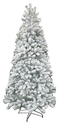 Новогодняя заснеженная елка, 1.8 м Snowmen