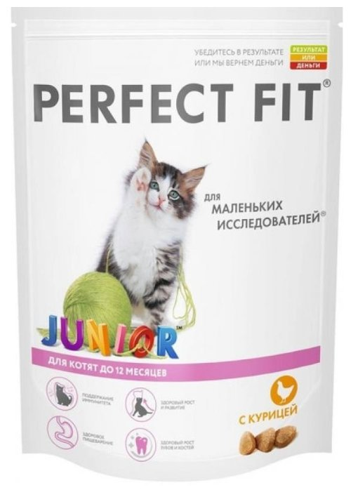 Perfect Fit Junior Пауч с курицей для котят (0.085 кг) 1 шт.