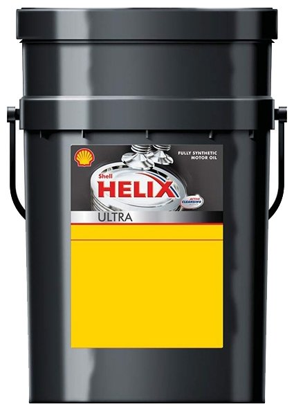 Моторное масло SHELL Helix Ultra 0W-40 20 л