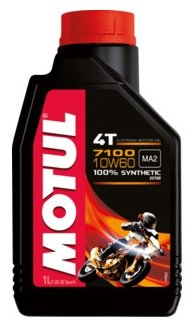 Моторное масло Motul 7100 4T 10W60 1 л
