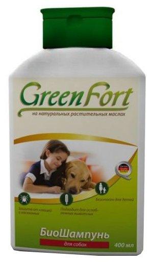 GreenFort БиоШампунь от блох для собак 400 мл