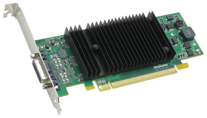 Matrox Видеокарта Matrox Millennium P690 PCI-E 256Mb 128 bit Low Profile