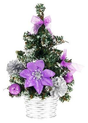 Новогодняя елочка с украшениями, 20 см Snowmen