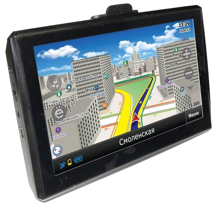 GlobusGPS GL-700AV с камерой заднего вида