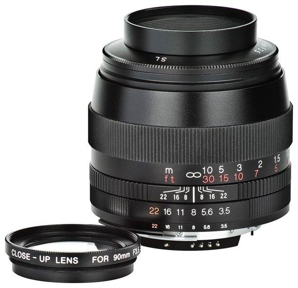 Объектив Voigtlaender 90mm f/3.5 APO SLII Lanthar Canon EF-S