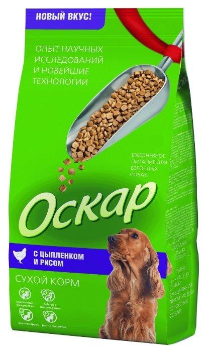 Оскар Сухой корм для собак Цыпленок с рисом (2 кг)