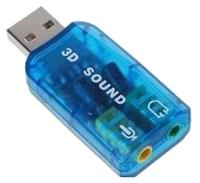 Внешняя звуковая карта C-media USB Trua3D