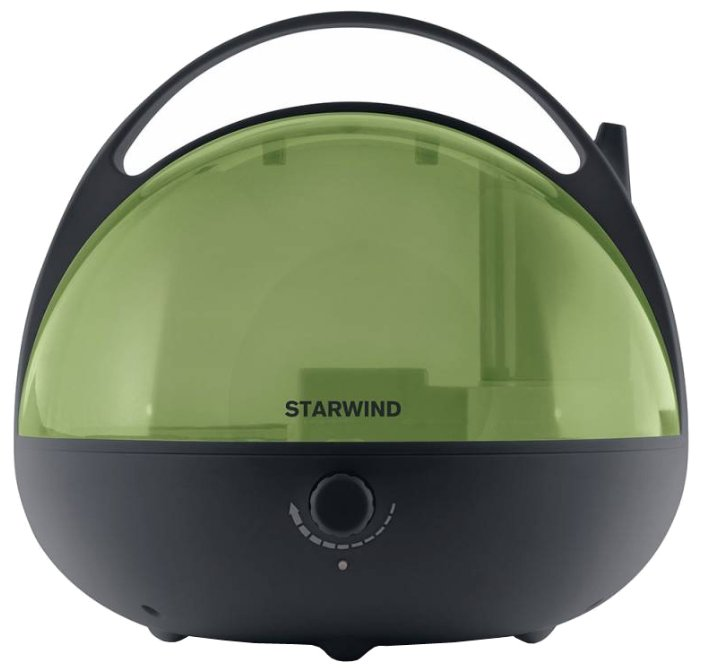 Увлажнитель и очиститель воздуха StarWind SHC3415 черный/зеленый (SHC3415)