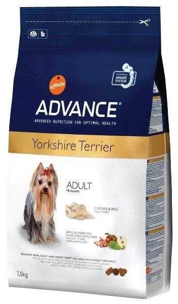 Корм для собак Advance Yorkshire Terrier Adult курица и рис