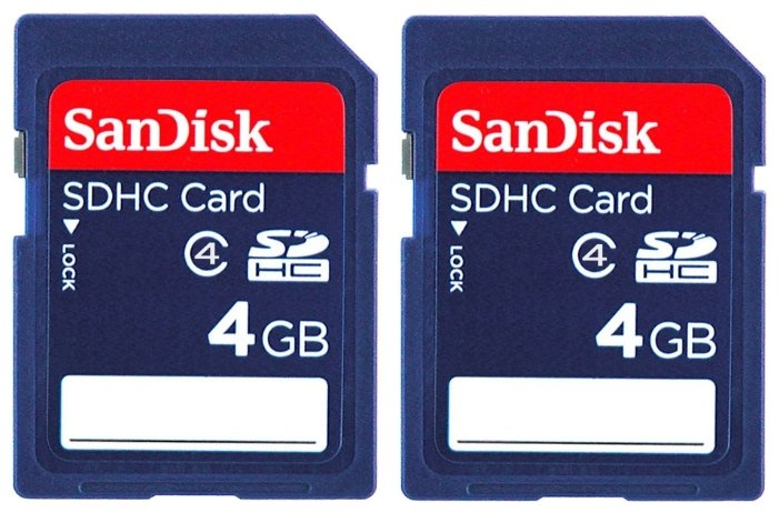SanDisk SDHC Card Class 4