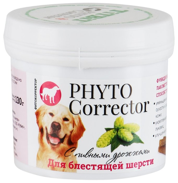 Лакомство для собак Titbit Фитокорректор с пивными дрожжами