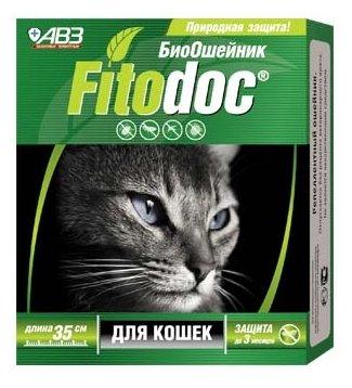 Агроветзащита Фитодок ошейник репеллентный для кошек 35 см