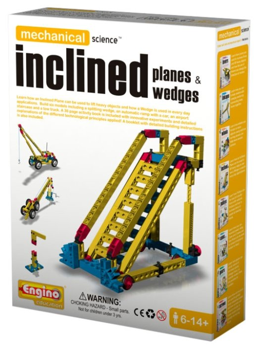 Конструктор ENGINO Mechanical Science M04 Inclined Planes&Wedges